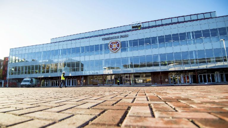 Hearts to open Tynecastle stand as Jags game goes ahead