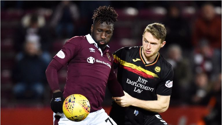 Archibald unhappy over wait for Tynecastle clash go-ahead
