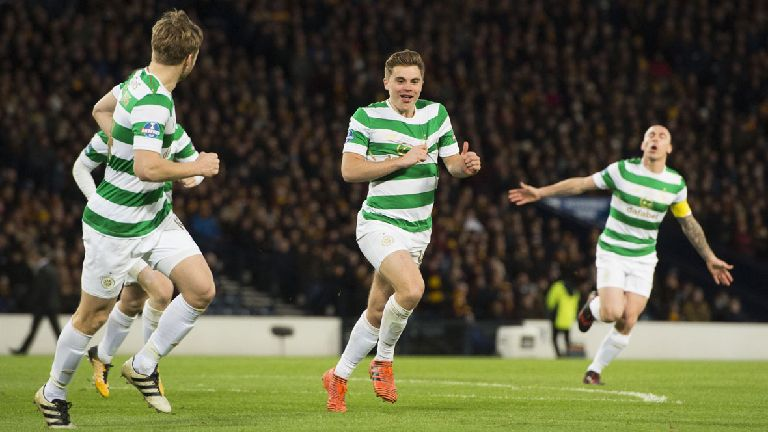 Celtic triumph in League Cup with 2-0 win over Motherwell