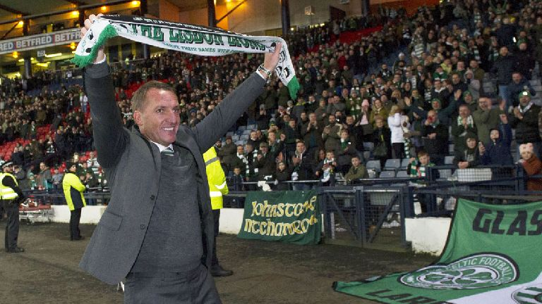 Rodgers: Celtic players showed character in cup triumph