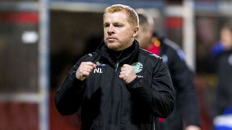 Lennon wants to challenge Aberdeen and Rangers for second