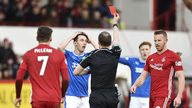 Rangers' Ryan Jack fails in appeal against red card