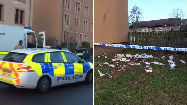Man 'threatened to kill people and plant bombs' in