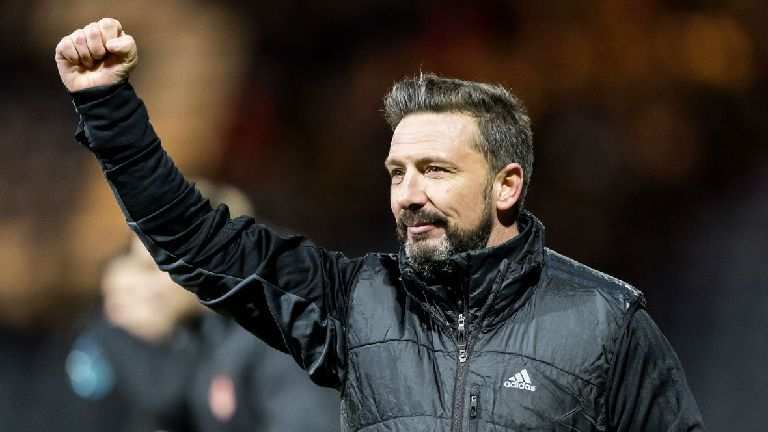McInnes brushes off Rangers statement as Aberdeen