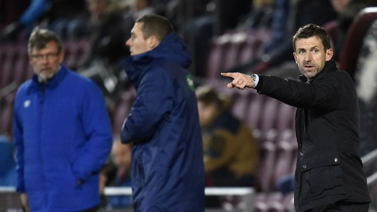 Neil McCann brands Dundee display in Hearts loss a 'joke'