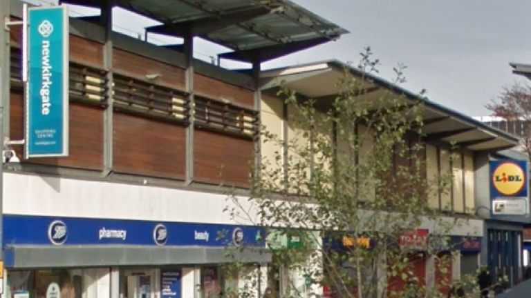 Man injured in 'vicious' attack near shopping cent