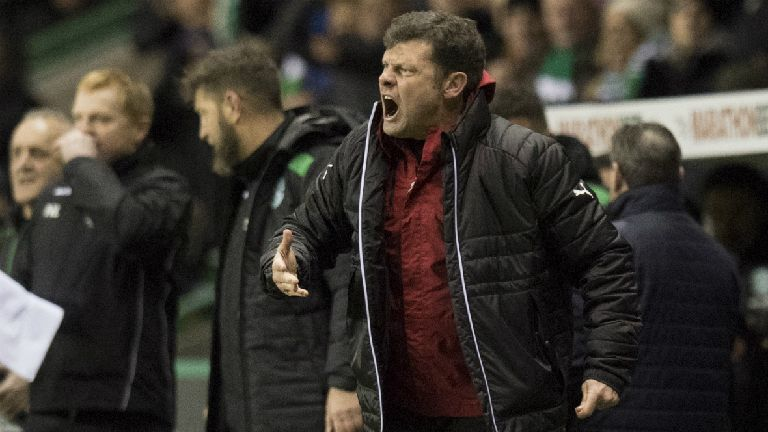 Murty: We leave Easter Road grateful for three points