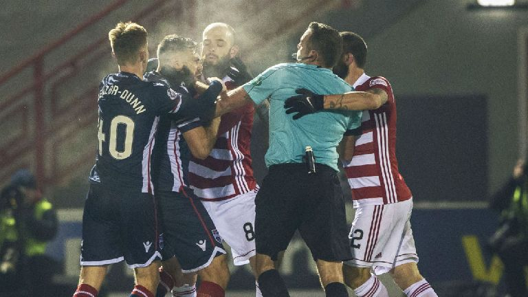 Canning sympathises with rookie referee after dramatic end