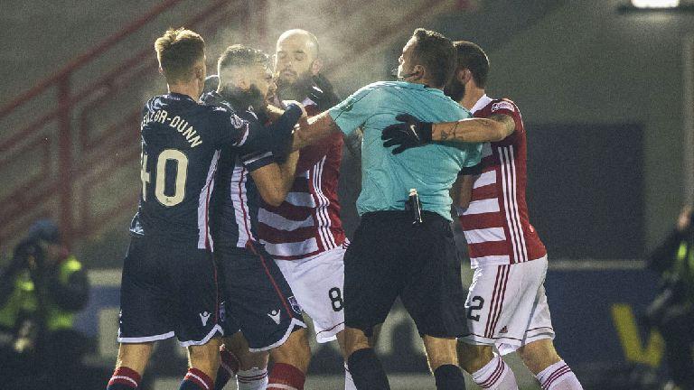 Skondras charged by Scottish FA after Hamilton brawl