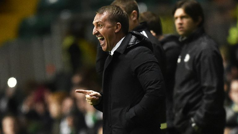 Rodgers delighted with Celtic's response to defeat