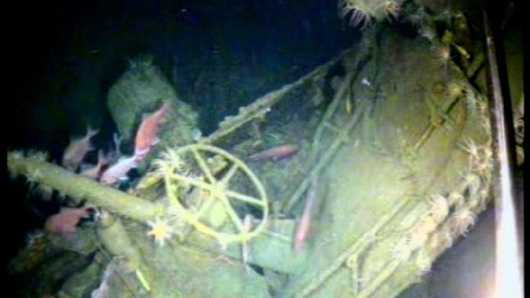 Wreck of Australia's first submarine found 103 years on