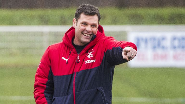 Graeme Murty to manage Rangers until end of season