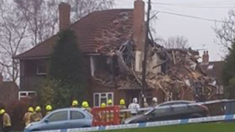 Emergency services called to 'explosion' in north