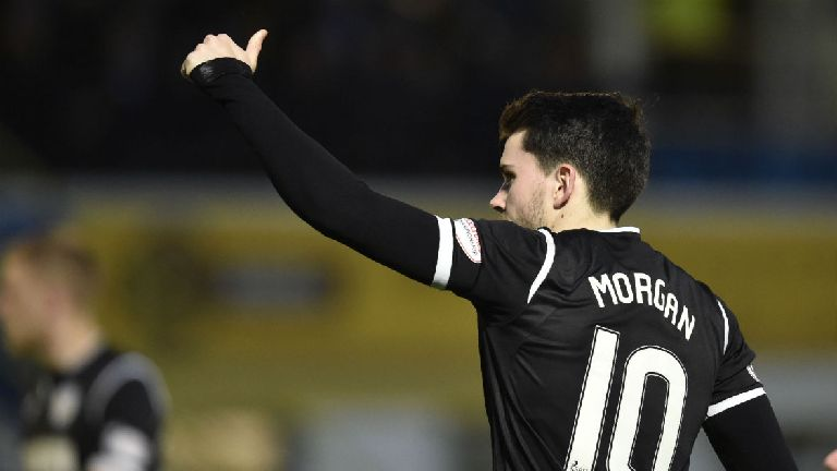 Jack Ross: Lewis Morgan can become star for Celtic