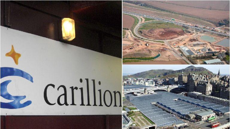 Scots jobs at risk as Carillion enters liquidation