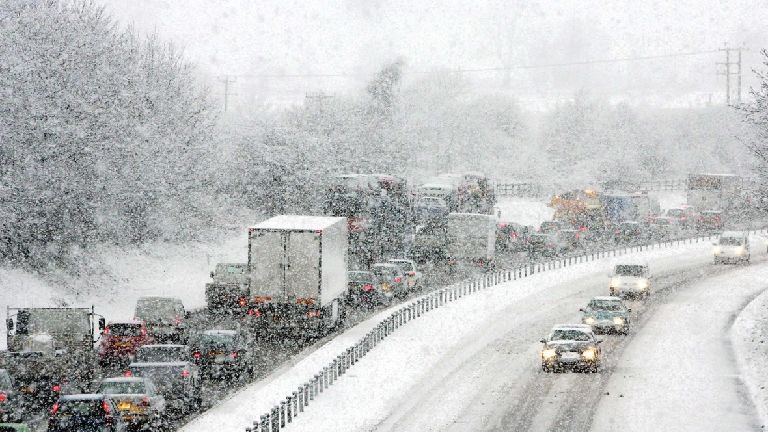 More snow batters Scotland as temperatures drop to
