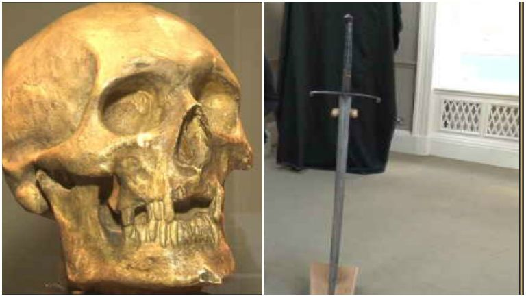 Robert the Bruce's sword to go on display for firs