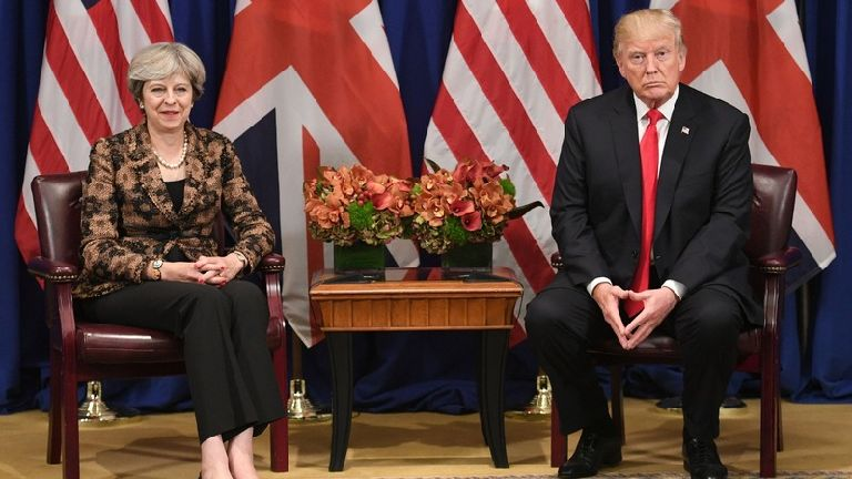 May to meet Trump for talks at World Economic Foru