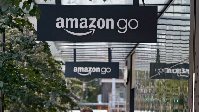 Amazon launches first supermarket with no checkout