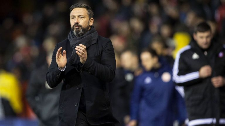 McInnes delighted as Aberdeen hit points target