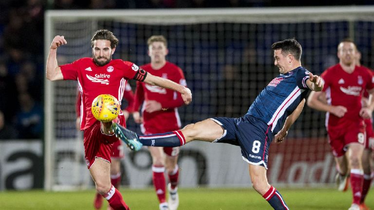 Graeme Shinnie: Bookings won't change how I play