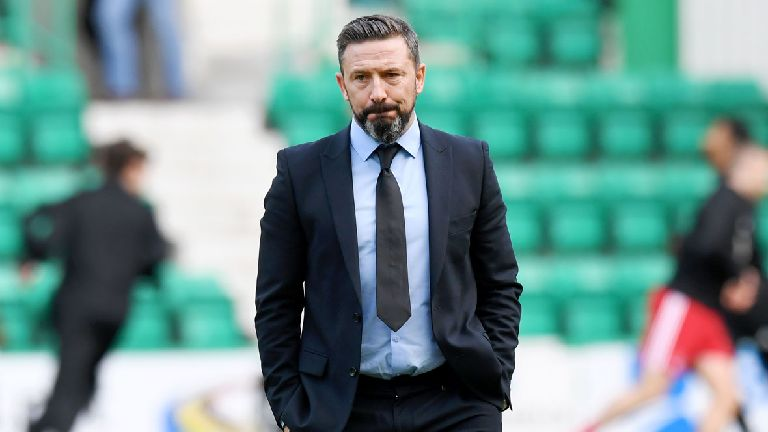 McInnes: Hibs 'absolutely murdered us' and deserved win