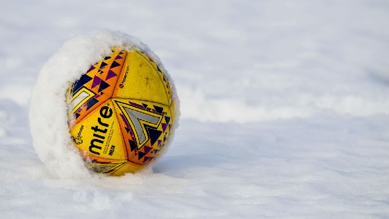 All three Premiership fixtures called off as snow hits