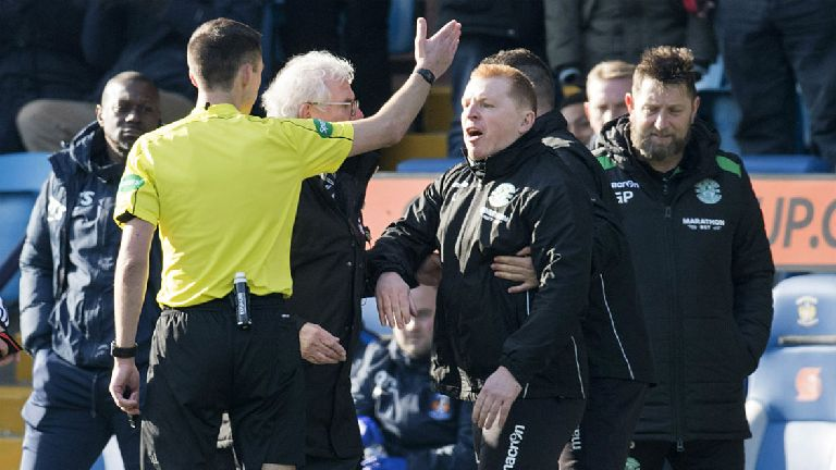 Hibs boss Neil Lennon hit with SFA notice of complaint
