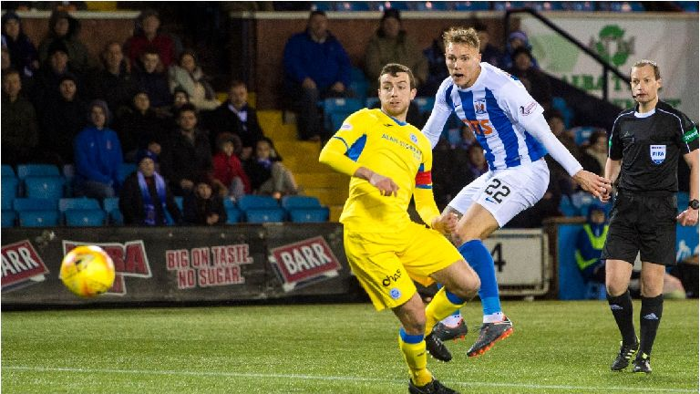 Kilmarnock up to fifth with 2-0 win over St Johnstone