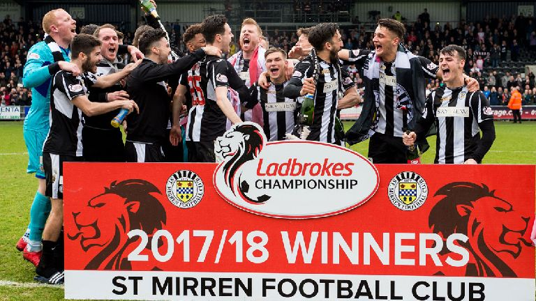 St Mirren plan Premiership progress after promotion party