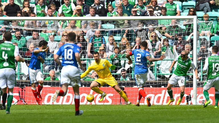 Premiership round-up: Hibs goalfest, Dons beat Celtic