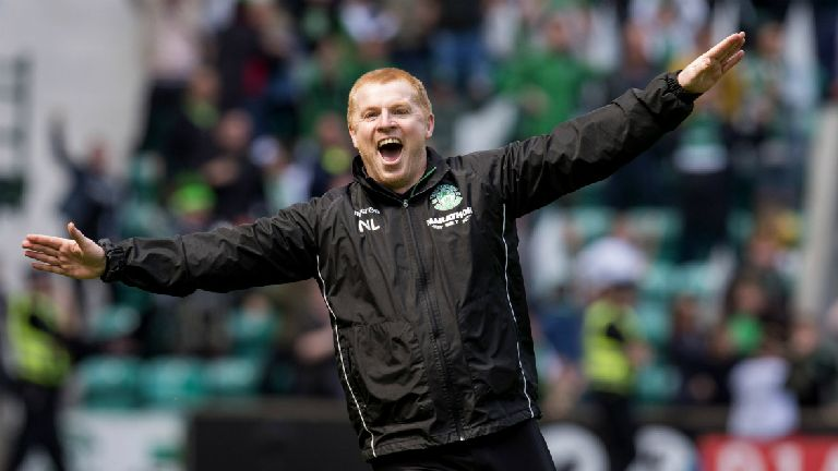 Lennon defends on-pitch celebration after Hibs equaliser