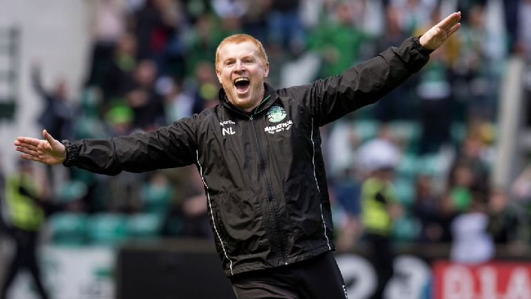 Neil Lennon hit with misconduct charge over celebration