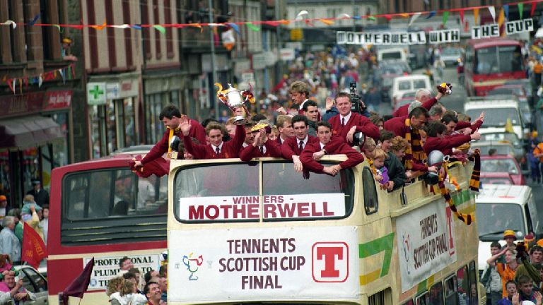 1991: Motherwell's cup win in dramatic Hampden final