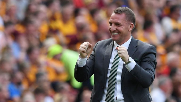 Brendan Rodgers: 'This is a day that will last forever'