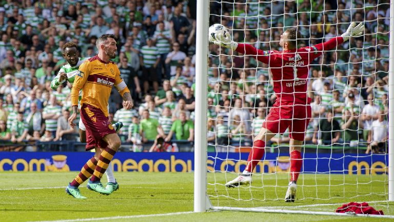 Carson: Motherwell showed Celtic too much respect in final