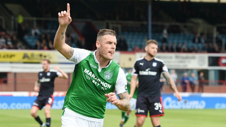 Free agent Anthony Stokes training with St Mirren