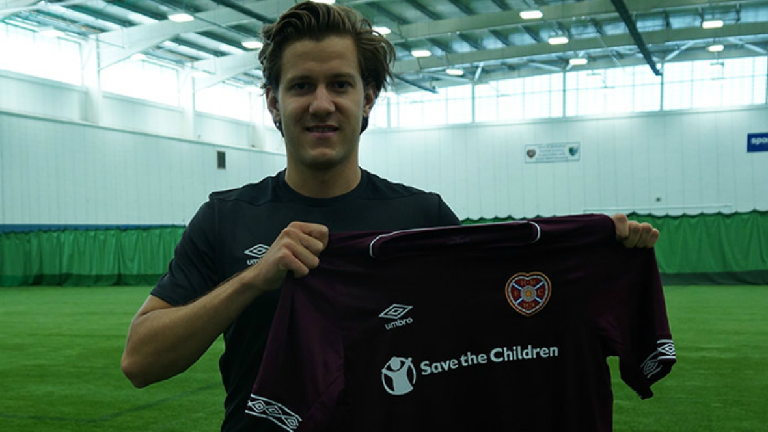 Hearts sign Austrian defender Peter Haring on two-year deal