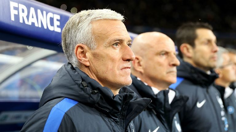 Deschamps 'satisfied' as France progress to knockouts