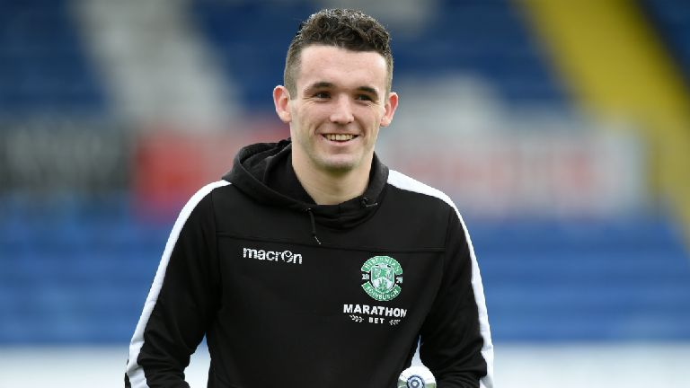 McGinn omitted from Hibs squad for Europa League opener
