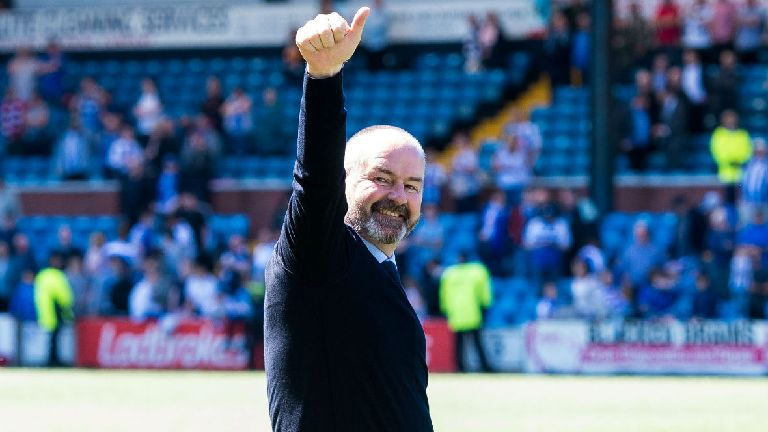 Steve Clarke signs new improved contract at Kilmarnock