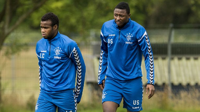 Sadiq and Coulibaly not in Rangers squad to face Shkupi