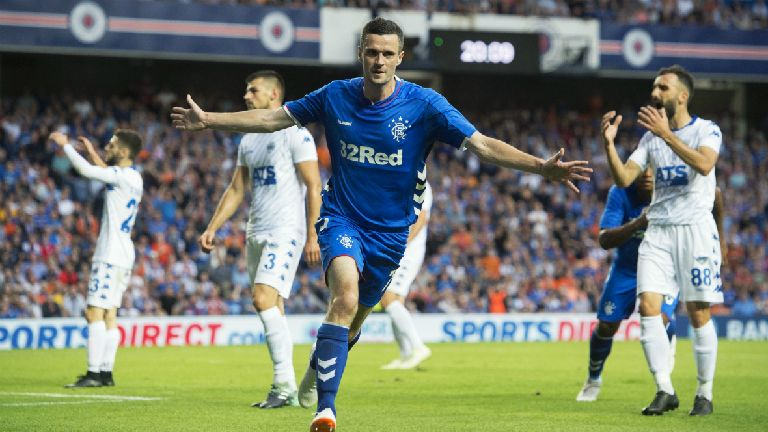 Rangers defeat Shkupi and Hibs enjoy Runavik rout