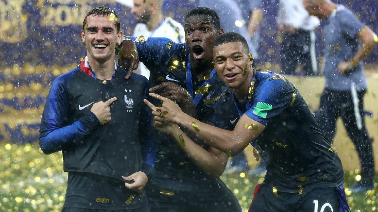 Griezmann: I'm ready to party after World Cup triumph