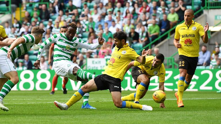 Celtic cruise through with 3-0 home win over Alashkert