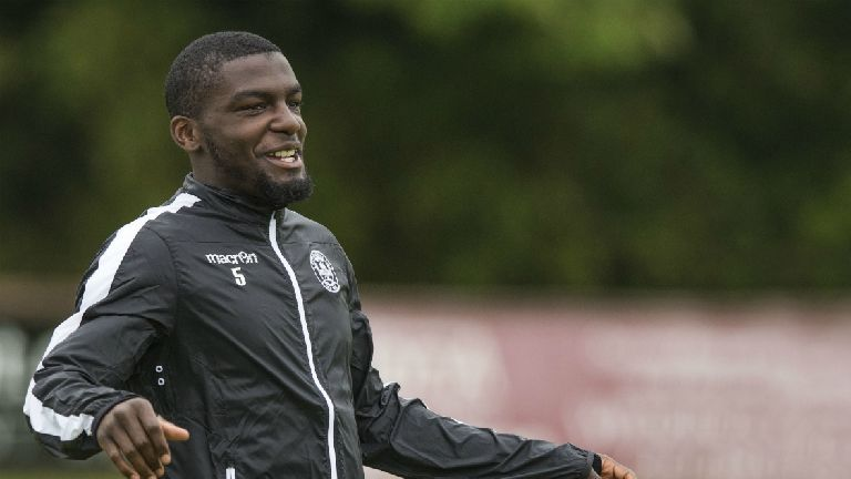 Motherwell defender Cedric Kipre makes £1m switch to Wigan
