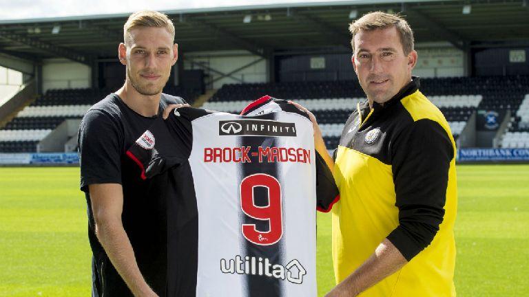St. Mirren sign Nicolai Brock-Madsen on loan from Birmingham City