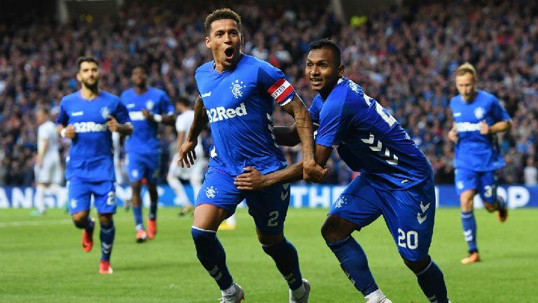Europa League: Rangers beat Maribor, Hibs draw with Molde