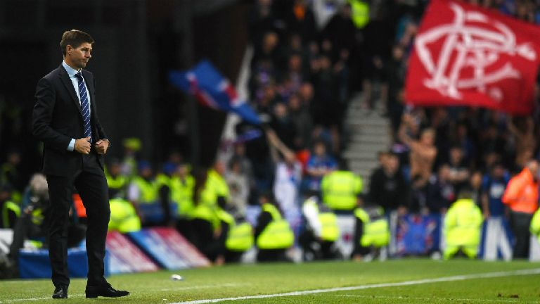 Gerrard calls on Rangers to make Ibrox a 'fortress'