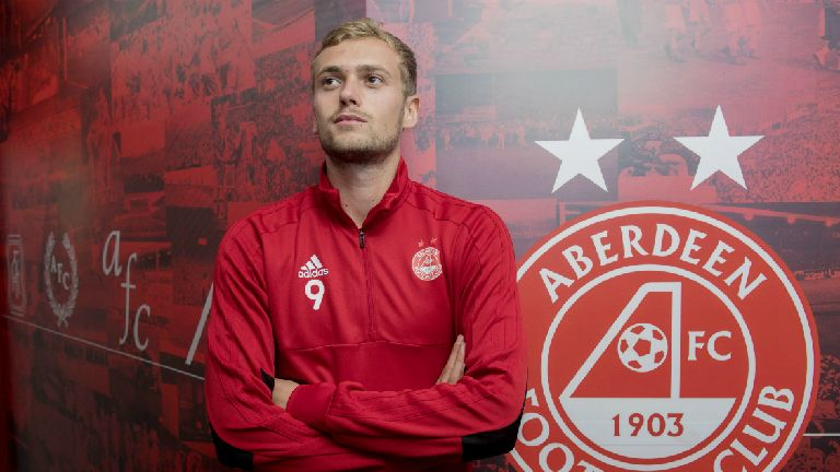 Wilson aims to follow Maddison by shining at Aberdeen